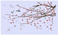 【KT-2892】梅花 小鸟  矢量图