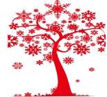 【KT-2963】雪花树  矢量图