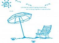 【KT-2953】躺椅 螃蟹 太阳 大雁  矢量图