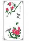 【KT-2995】牡丹 鸟语花香 矢量图