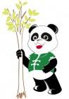 【KT-3227】熊猫  矢量图