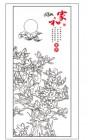 【KT-3225】玉兰花 家和  矢量图