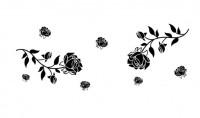 【KT-3271】玫瑰  矢量图