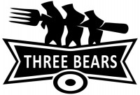 【KT-3300】刀叉 three bears  矢量图