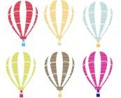 【KT-3388】降落伞  矢量图