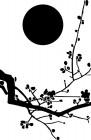 【CX-202】梅花 太阳  矢量图