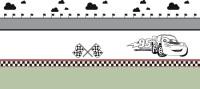 【CX-209】小汽车 白云 红旗 矢量图
