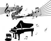 【CX-295】音符 钢琴  矢量图