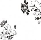 【CX-322】喇叭花对花  矢量图