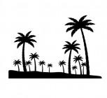 【CX-398】椰树 矢量图