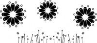 【CX-362】多瓣花 散花 矢量图