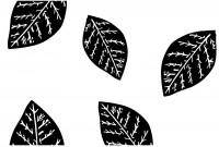 【CX-411】树叶 矢量图