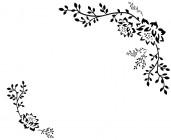 【CX-414】皇冠对花 矢量图