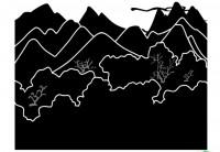 【CX-534】山 树 矢量图