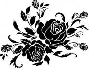 【CX-513】玫瑰矢量图