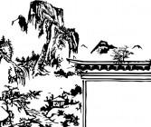 【CX-489】山 房子  矢量图